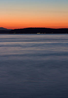 Photograph - Ruston Way Tacoma Sunset by Bob Noble