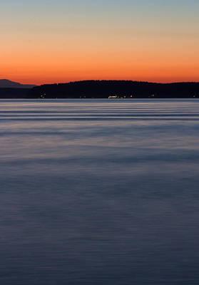 Photograph - Ruston Way Tacoma Sunset by Bob Noble Photography