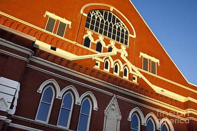 Photograph - Ryman Auditorium by Brian Jannsen