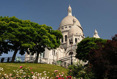 Sacre Coeur Art Print by Jeremy Voisey