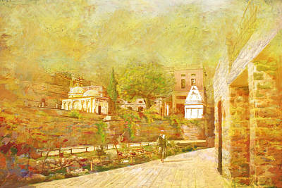 Islamabad Painting - Saidpur Village by Catf
