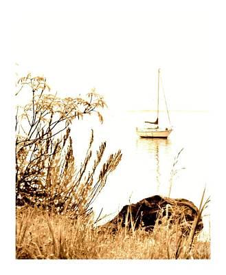 Photograph - Sailboat by Barbara Henry