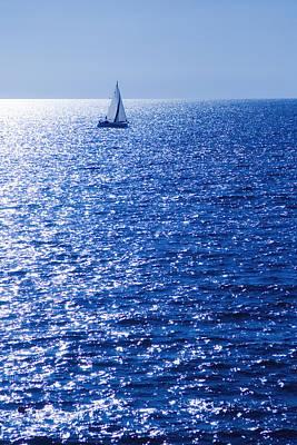 Sailboat Photograph - Sailboat by Modern Art Prints