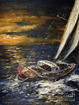 Sailing Art Print by Arturas Slapsys