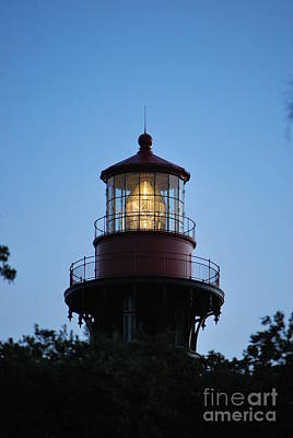Photograph - Saint Augustine Lighthouse -1 by Bob Sample