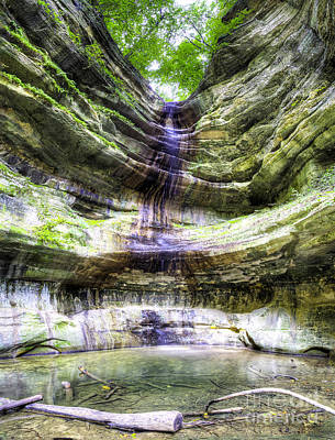 Saint Louis Canyon At Starved Rock Art Print by Twenty Two North Photography