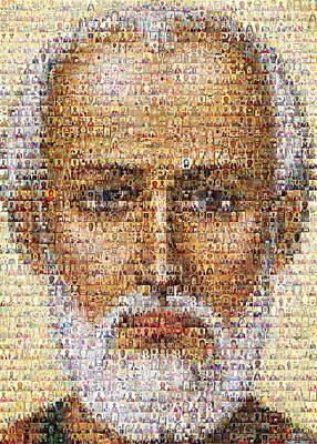Saint Nicholas Original by Temur Lursmanashvili