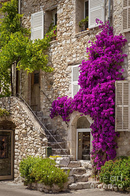 Saint Paul De Vence Art Print by Brian Jannsen