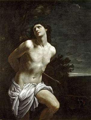 Saint Sebastian Reni Painting - Saint Sebastian by Guido Reni