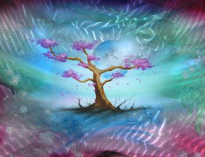 Sakura Art Print by Luis  Navarro