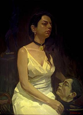 Painting - Salome Guadalupe Ingelmo by Alejandro Cabeza
