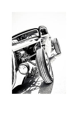 Antique Automobile Photograph - Salt Metal by Holly Martin