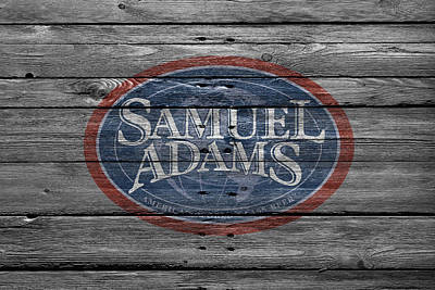 Handcrafted Photograph - Samuel Adams by Joe Hamilton