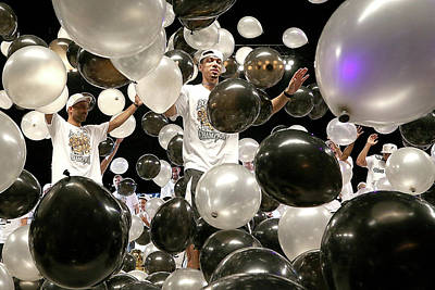 Photograph - San Antonio Spurs Victory Parade And by Gary Miller