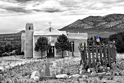 Photograph - San Francisco De Asis Church by Lou  Novick