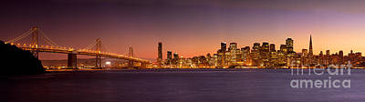 Photograph - San Francisco Skyline by Brian Jannsen