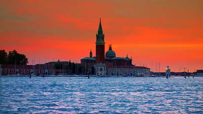 Photograph - San Giorgio Maggiore by Valentino Visentini