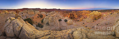 360 Wall Art - Photograph - Sandstone Formations Coyote Buttes by Yva Momatiuk John Eastcott