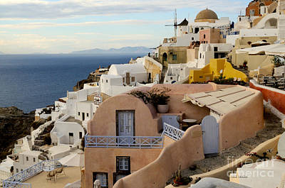 Santorini - Greece Art Print