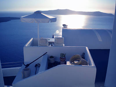 Santorini Island Greece Art Print