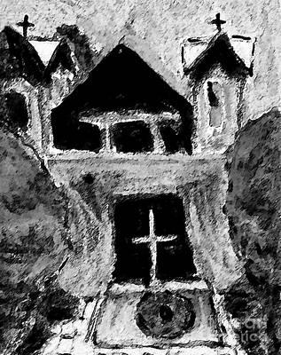 Painting - Santuario De Chimayo by Patricia Januszkiewicz