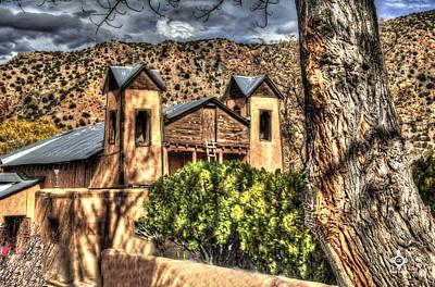 Chimayo Nm Photograph - Santuario De Chimayo by Tony Lopez