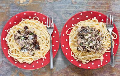 Sardines And Spaghetti Art Print