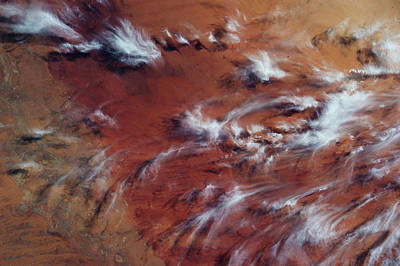 Mali Photograph - Satellite View Of Clouds by Panoramic Images