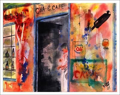 Saturday Afternoon Art Print by Joyce Ann Burton-Sousa