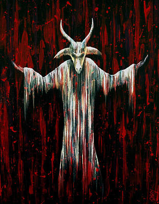 Ram Painting - Savior by Steve Hartwell
