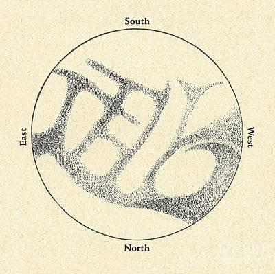 Schiaparellis Observations Of Mercury Art Print