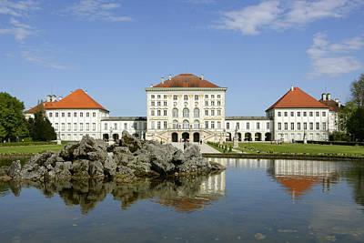 Schloss Nymphenburg In Muenchen, Castle Art Print