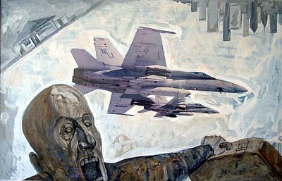 Scream Art Print by Filip Mihail
