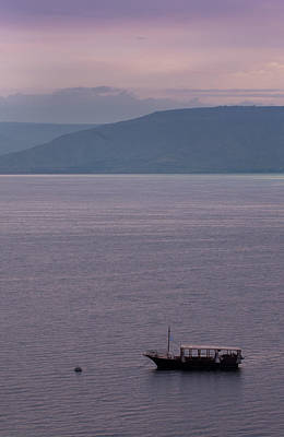 Photograph - Sea Of Galilee by Don Wolf