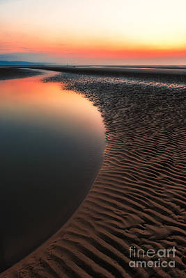 Photograph - Seascape Sunset by Adrian Evans