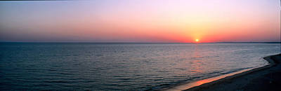 Algarve Photograph - Seascape The Algarve Portugal by Panoramic Images