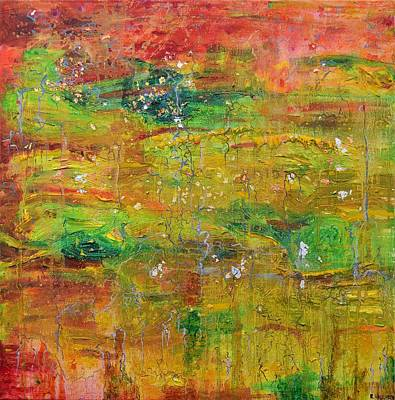 Peeper Painting - Seasonal Ecology by Regina Valluzzi