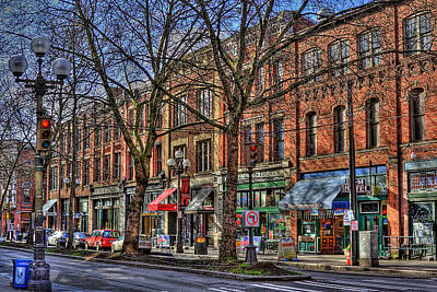 Seattle Taverns Photograph - Seattle by David Patterson