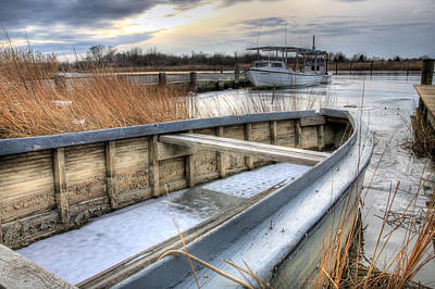 Ice Fishing Photograph - Seaworthy  by JC Findley
