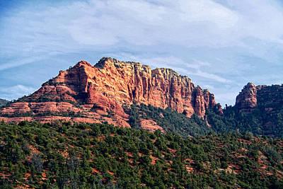 Oak Creek Photograph - Sedona Arizona   by Jon Berghoff