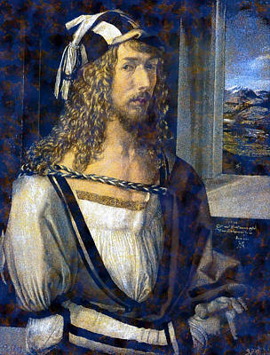 Self Portrait Art Print by Albrecht Durer