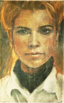 Self Portrait Art Print by Janet Kearns