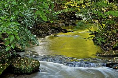 Serene Stream Art Print by Frozen in Time Fine Art Photography