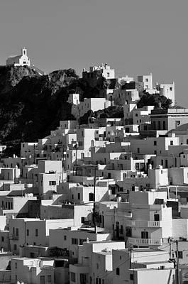 House Photograph - Serifos Island by George Atsametakis