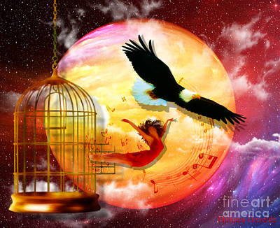 Birds Royalty-Free and Rights-Managed Images - Set Free by Dolores Develde