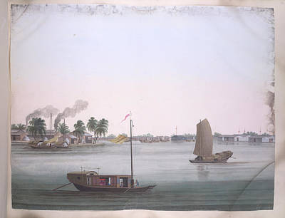 Illustration Technique Photograph - Several Boats by British Library
