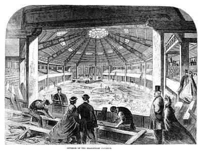 Stratford Painting - Shakespeare Pavilion, 1864 by Granger