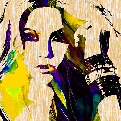Shakira Mixed Media - Shakira Collection by Marvin Blaine