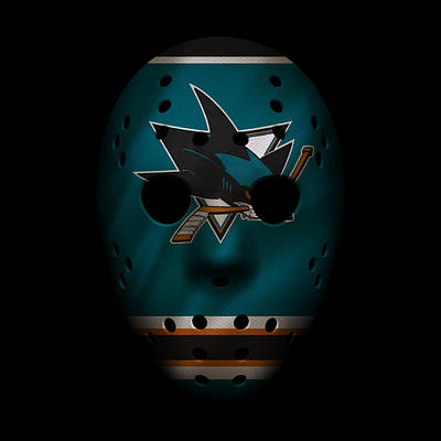 Photograph - Sharks Jersey Mask by Joe Hamilton
