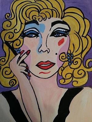 Painting - Shirley  by Nikki Dalton